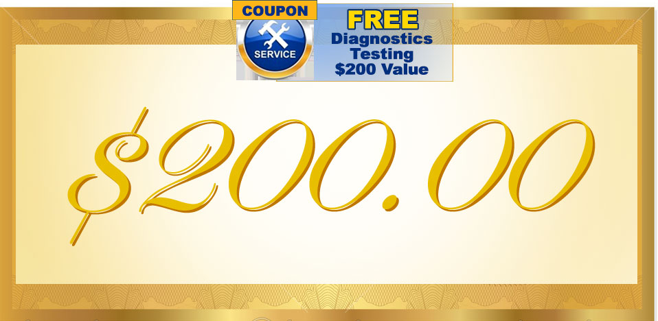 Free Diagnostic Coupon