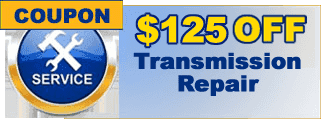 $225 Off Transmission Repair Coupon