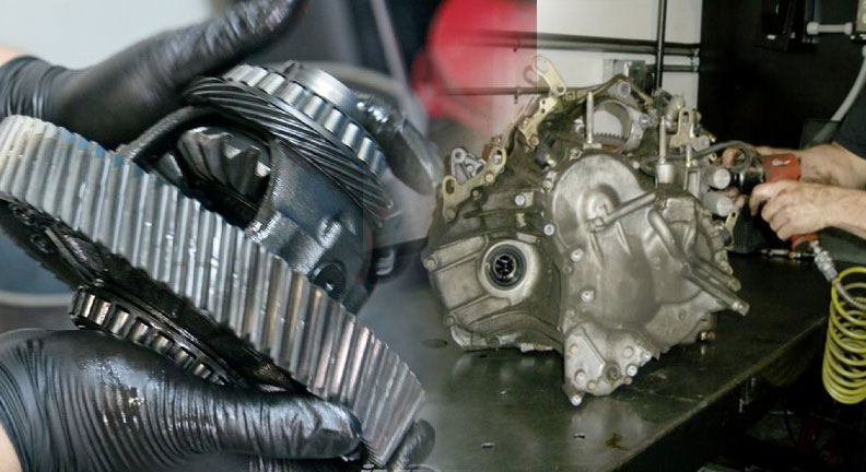 Rebuilt transmission at Ft Lauderdale repair shop